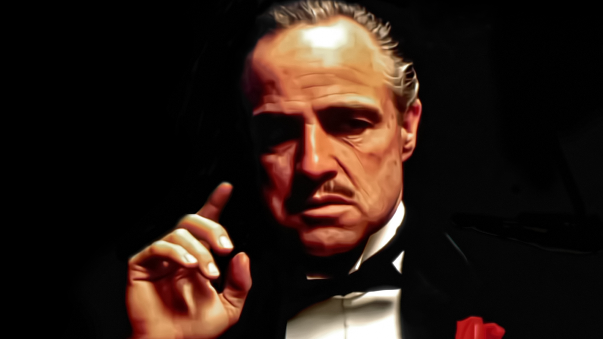 The Godfather - Don Vito Wallpaper for Desktop 1920x1080 ...