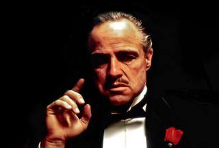 The Godfather - Don Vito - Fondos de pantalla gratis