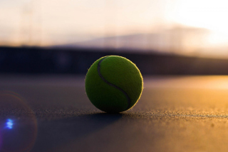 Tennis Ball Background for Android, iPhone and iPad