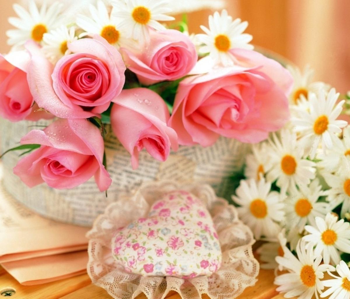 Картинка с днем рождения оля цветы