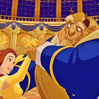 Free Beauty and The Beast Picture for 1024x1024