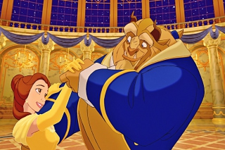 Beauty and The Beast Background for Android, iPhone and iPad