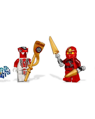 Lego Ninjago Minifigure Background for Nokia Asha 305