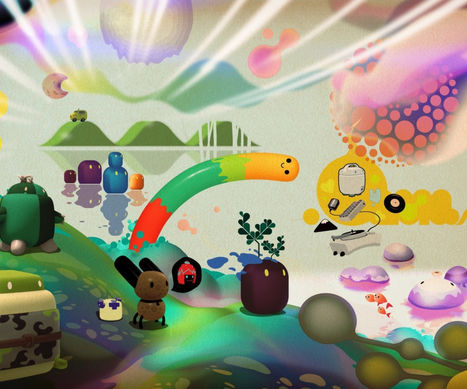 Screenshot №1 pro téma Cartoon Clipart 960x800