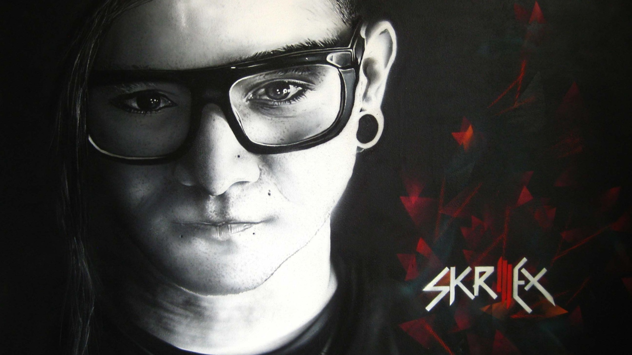 Das Skrillex Wallpaper 1280x720