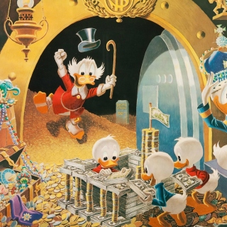 Kostenloses Donald Duck in DuckTales Wallpaper für iPad 3
