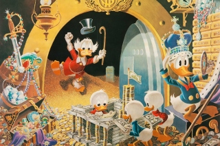 Donald Duck in DuckTales sfondi gratuiti per HTC Raider 4G