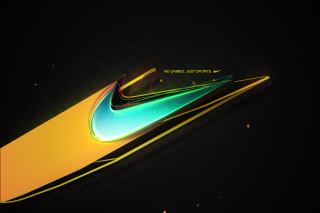 Nike - No Games, Just Sports - Obrázkek zdarma pro Widescreen Desktop PC 1680x1050