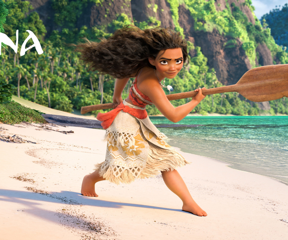 Moana 3D Cartoon screenshot #1 960x800