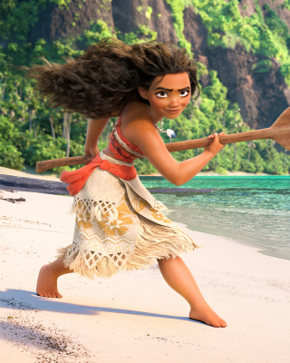 Moana 3D Cartoon Wallpaper for HTC Titan