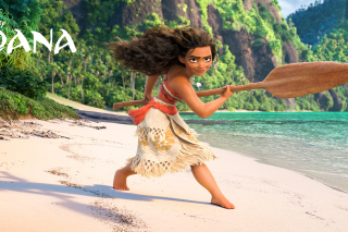 Kostenloses Moana 3D Cartoon Wallpaper für Android 480x800