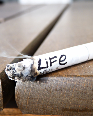 Free Life burns with cigarette Picture for Nokia C1-01