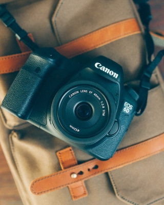 Canon EOS 6D sfondi gratuiti per iPhone 6 Plus
