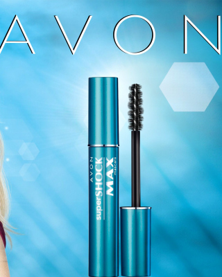 Avon Cosmetics, Mascara Background for Nokia C-5 5MP