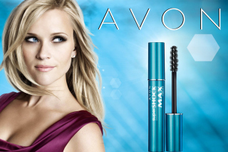 Avon Cosmetics, Mascara Background for Android, iPhone and iPad