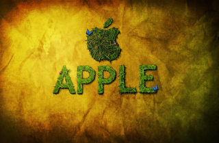Free Green Apple Picture for Android, iPhone and iPad