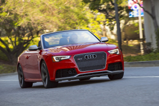 Free Audi RS5 Cabriolet Picture for Android, iPhone and iPad