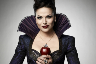 Free Evil Queen by Lana Parrilla Picture for Android, iPhone and iPad