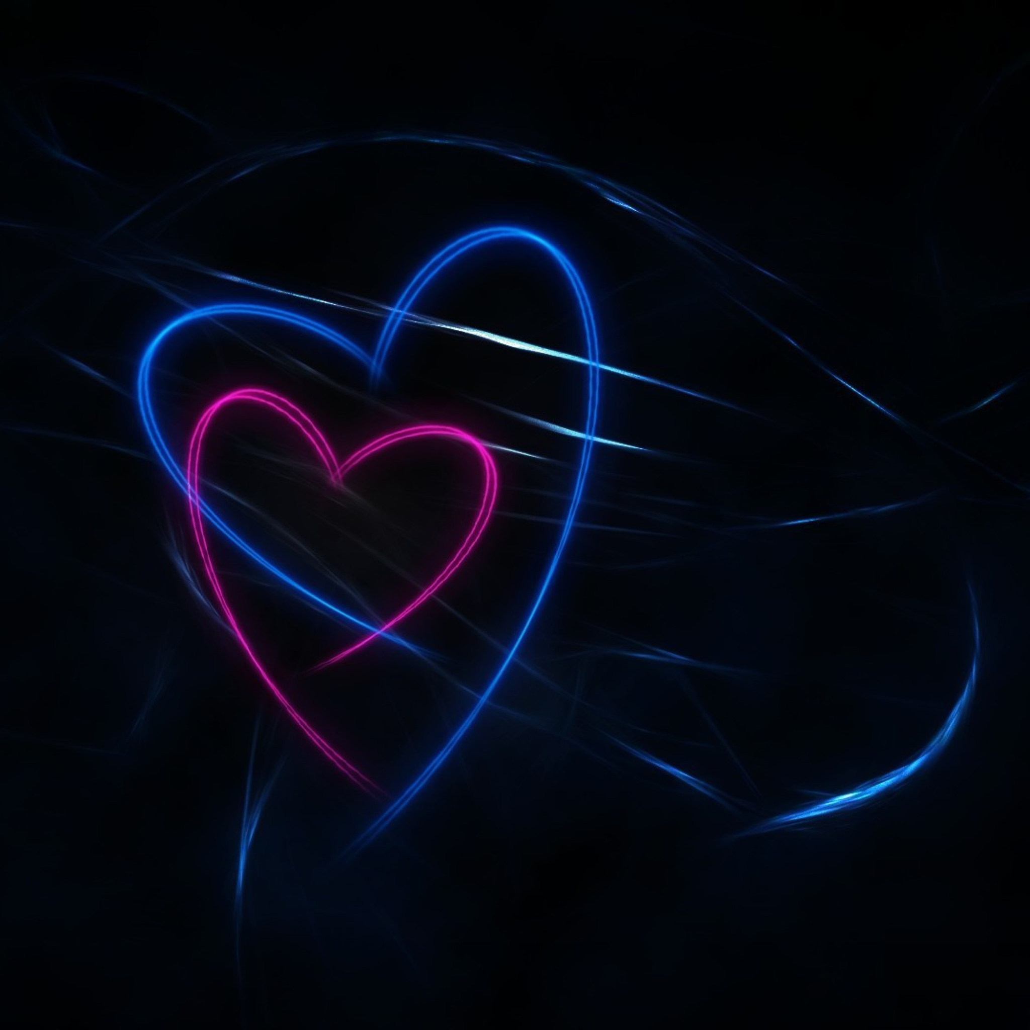 Светящееся сердце загрузить