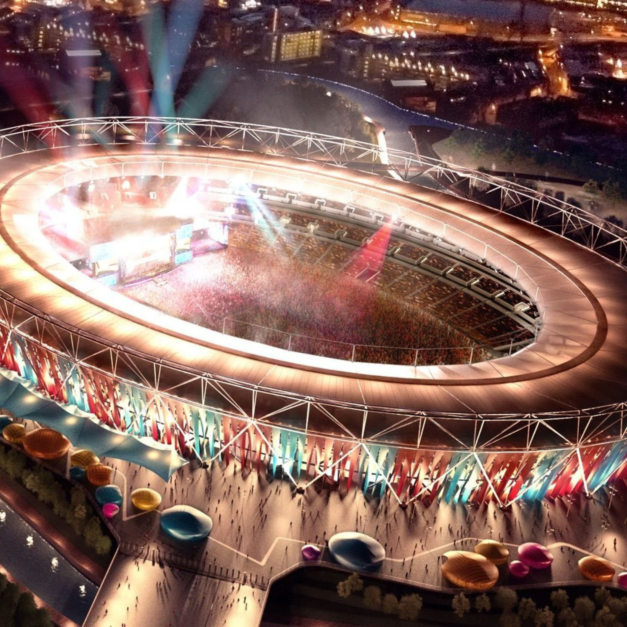 olympic games security launch - HD 2048×2048