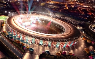 Free London Olympic Stadium Picture for Android, iPhone and iPad