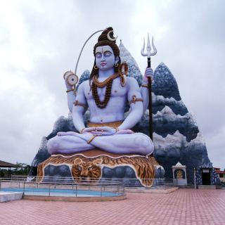 Lord Shiva in Mount Kailash sfondi gratuiti per iPad mini