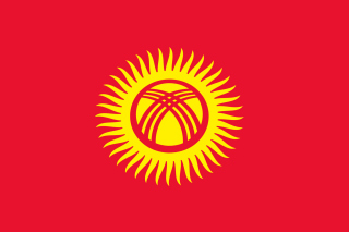 Flag of Kyrgyzstan Background for Android, iPhone and iPad