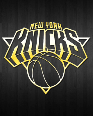 New York Knicks Logo Wallpaper for 320x480