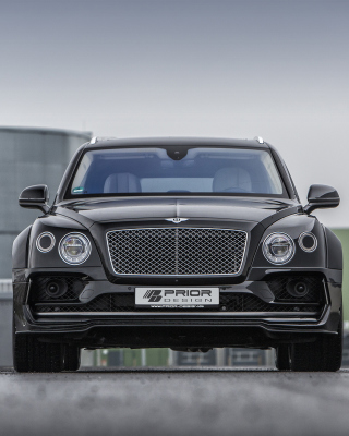 Kostenloses Bentley Bentayga SUV Wallpaper für iPhone 6 Plus