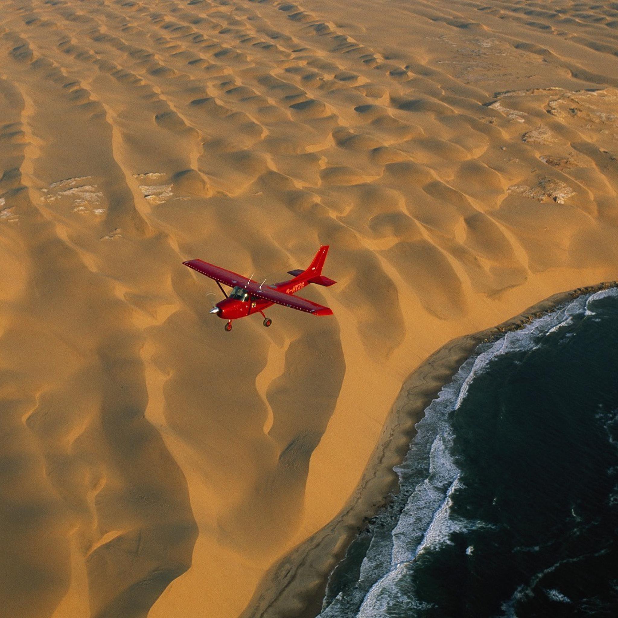 Желтый самолет в пустыне скачать