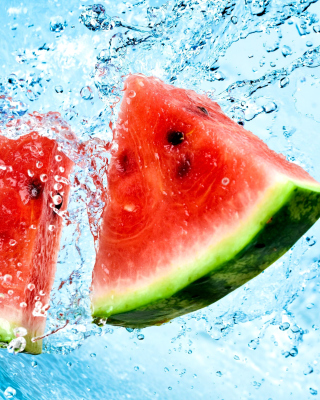 Watermelon Triangle Slices Wallpaper for iPhone 6 Plus