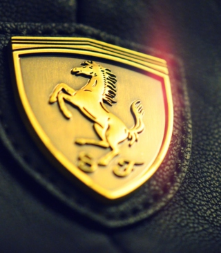 Ferrari Emblem Background for iPhone 6 Plus