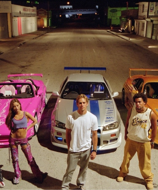 Free 2 Fast 2 Furious Picture for iPhone 6 Plus