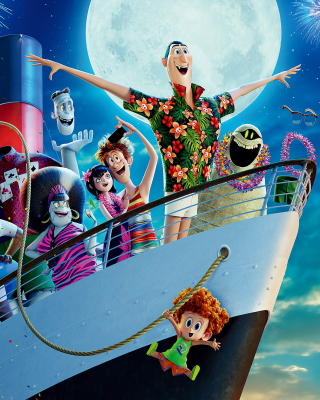 Hotel Transylvania 3 Poster Background for HTC Titan