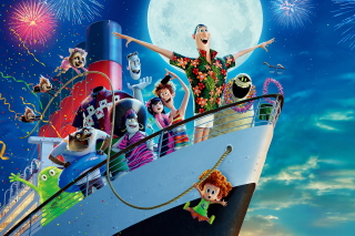 Hotel Transylvania 3 Poster Wallpaper for HTC Desire HD