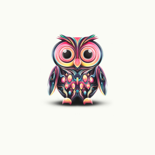 Cute Owl sfondi gratuiti per iPad mini