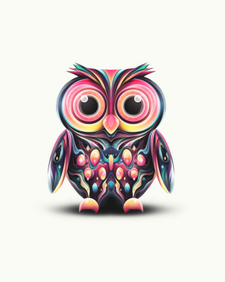 Cute Owl Wallpaper for 480x800