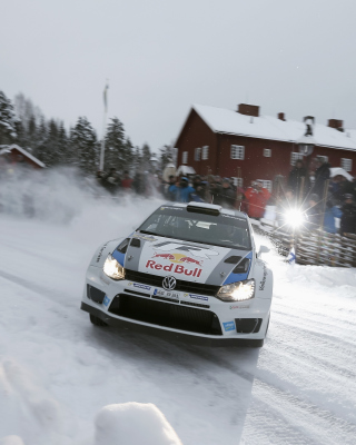 Volkswagen Polo WRC Drift Picture for 480x800