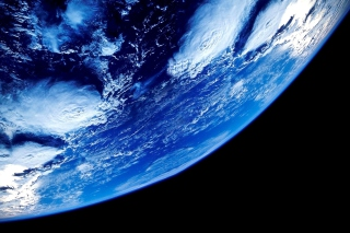 Blue Planet Background for Android, iPhone and iPad