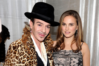 Natalie Portman & John Galliano Picture for Android, iPhone and iPad
