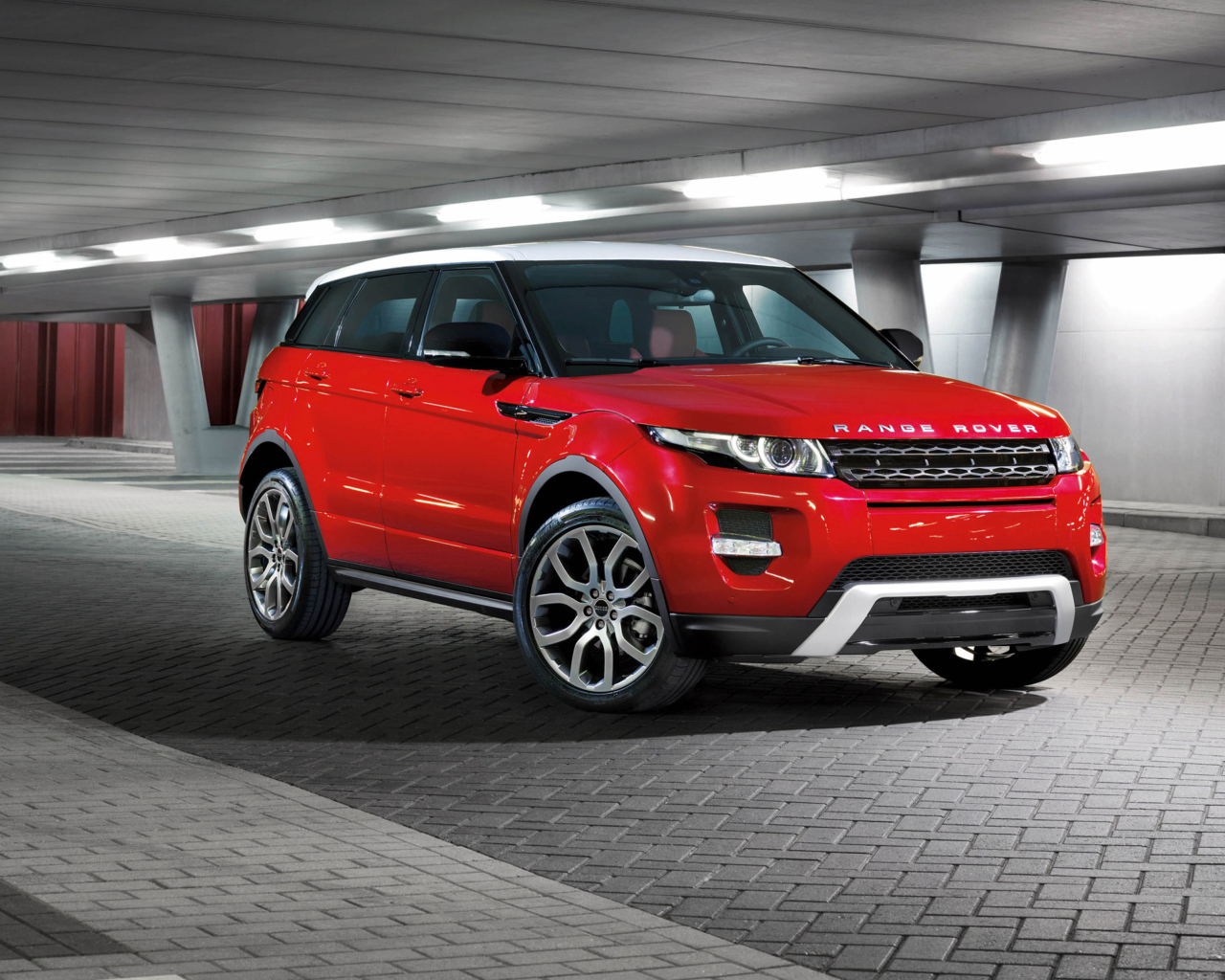 Das Range Rover Wallpaper 1280x1024