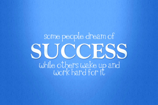 Success Quote Wallpaper for HTC Desire HD