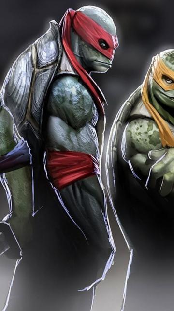 Ninja Turtles 2014 for Nokia N8
