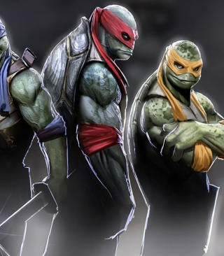 Ninja Turtles 2014 sfondi gratuiti per iPhone 6 Plus