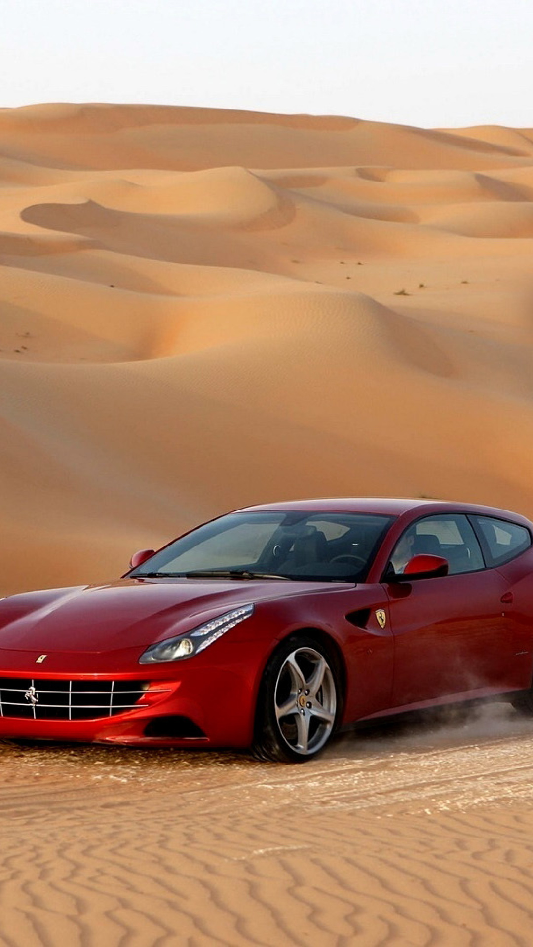 ferrari ff in desert picture for iphone 7 plus - Ferrari 488 Iphone Wallpaper