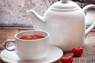 Free Romantic Tea Evening Picture for Android 480x800