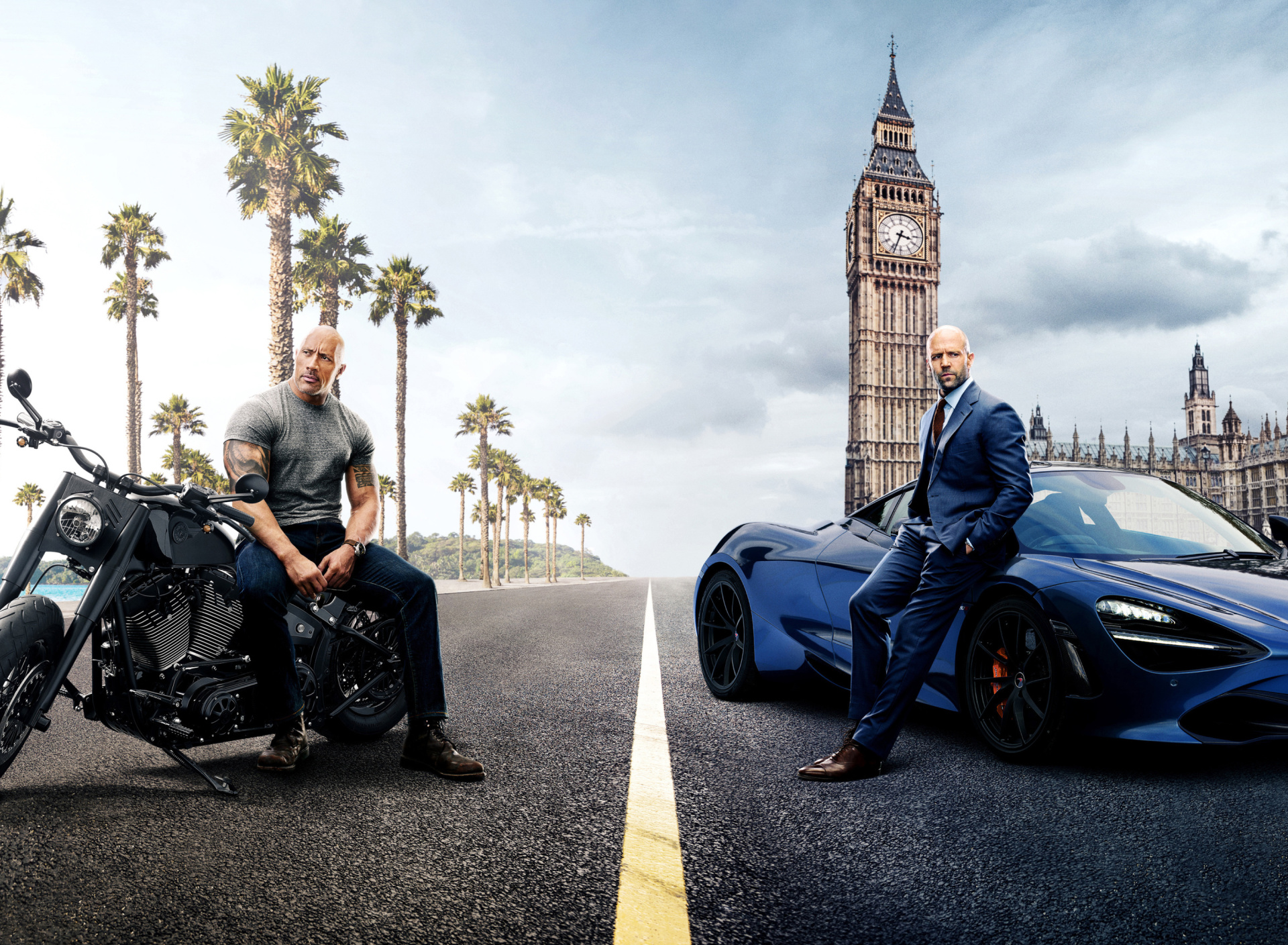Fast and Furious Presents Hobbs and Shaw wallpaper 1920x1408