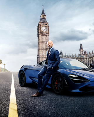 Fast and Furious Presents Hobbs and Shaw Background for 240x320