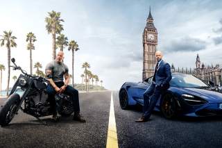 Fast and Furious Presents Hobbs and Shaw - Obrázkek zdarma pro Android 600x1024