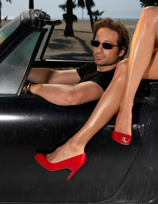 Hank Moody Wallpaper for iPhone 3G